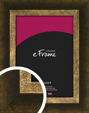 Battered Bronze / Copper Picture Frame (VRMP-1393)