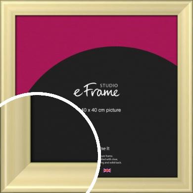 Contemporary Gold Picture Frame, 40x40cm (VRMP-A104-40x40cm)