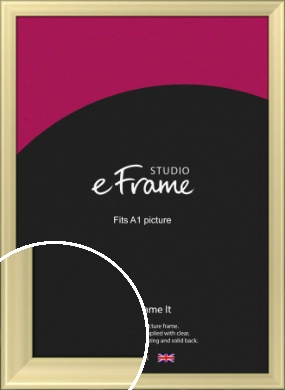 Contemporary Gold Picture Frame, A1 (594x841mm) (VRMP-A104-A1)