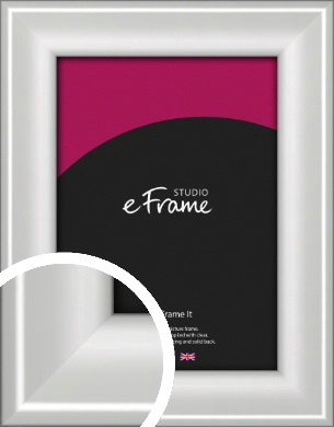 Prestige Polished Aluminium Silver Picture Frame (VRMP-A105)