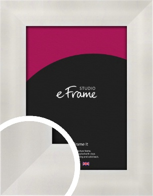 Bright Silver Picture Frame (VRMP-A106)
