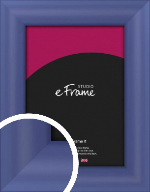 Simple Blue Picture Frame (VRMP-A107)