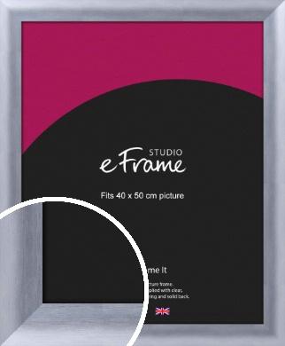 Cloud Silver Picture Frame, 40x50cm (VRMP-A088-40x50cm)