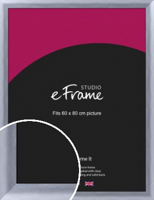 Cloud Silver Picture Frame, 60x80cm (VRMP-A088-60x80cm)