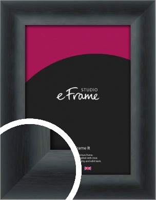 Inky Black Picture Frame (VRMP-A089)