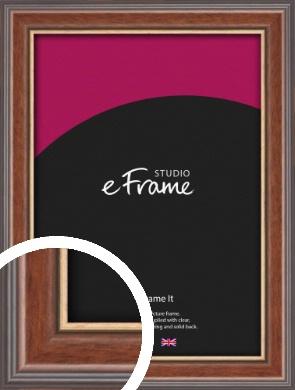Edwardian Brown Picture Frame (VRMP-287)