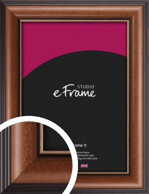 Traditional Brown Picture Frame (VRMP-294)