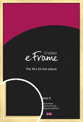 Stylish Gold Picture Frame, 16x24