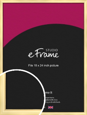 Stylish Gold Picture Frame, 18x24