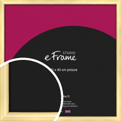 Stylish Gold Picture Frame, 40x40cm (VRMP-A048-40x40cm)