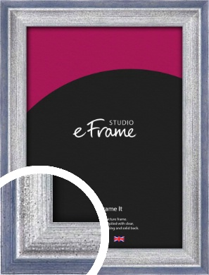Blended Silver Blue Picture Frame (VRMP-393)