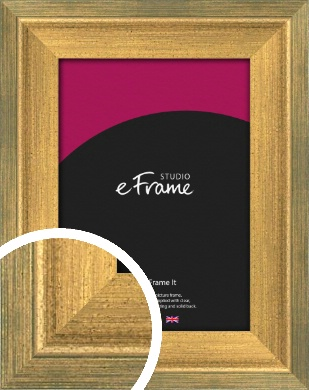 Stepped Green & Gold Picture Frame (VRMP-398)