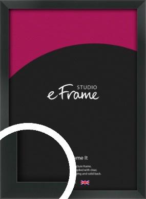 Modern Streamlined Black Picture Frame (VRMP-A099)