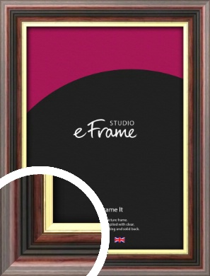 Award Style Brown Picture Frame (VRMP-305)