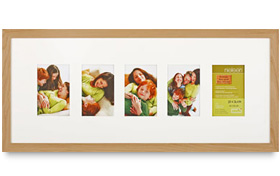 Multi-opening picture frames