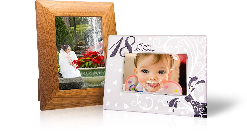 Photo frames for birthdays and special occasions