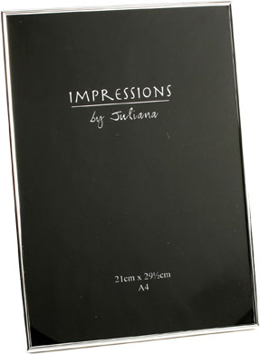 Impressions Silver Photo Frame (3778S)