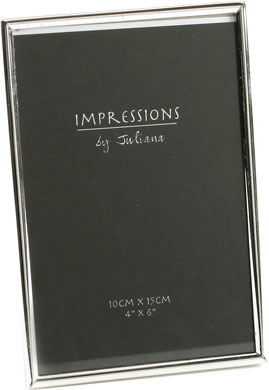 Impressions Silver Photo Frame, 4x6