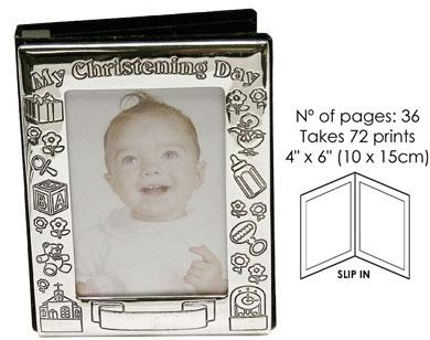 Impressions Christening Silver Photo Frame (8887)