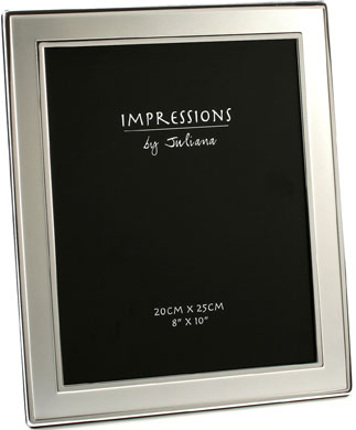 Impressions Silver Photo Frame, 8x10