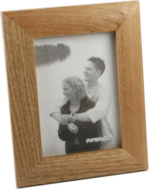 Impressions Natural Wood Photo Frame, 5x7