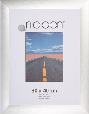 Nielsen Mars Silver Picture Frame, 70x100cm (R1171064)
