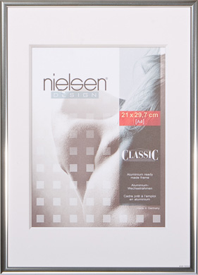 Nielsen Classic Silver Picture Frame, A3 (297x420mm) (R32403)