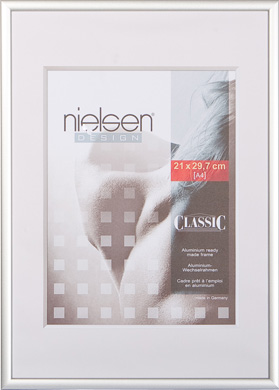 Nielsen Classic Silver Picture Frame, A3 (297x420mm) (R32404)
