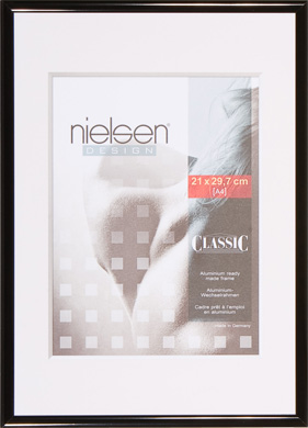 Nielsen Classic Black Picture Frame, A3 (297x420mm) (R32416)