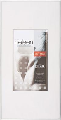 Nielsen Classic Silver Picture Frame, 50x100cm (R39604)