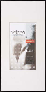 Nielsen Classic Black Picture Frame, 50x100cm (R39616)