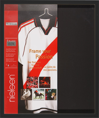 Nielsen Football Shirt Black Picture Frame (R5150350)