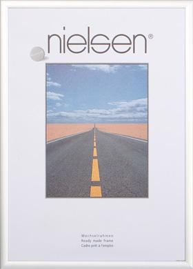 Nielsen Pearl Matt Silver Picture Frame, 62x93cm (R559981H)