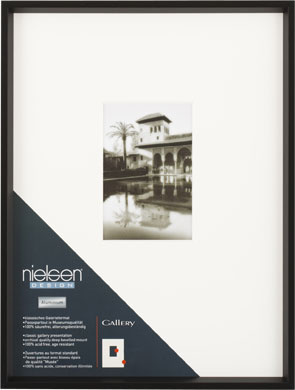 Nielsen Gallery Black Picture Frame & Mount (R563121)