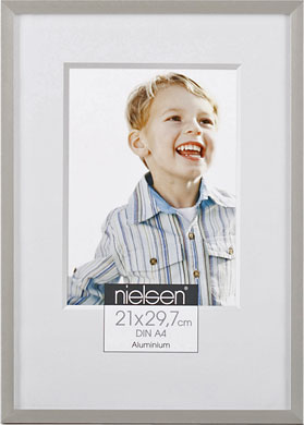 Nielsen C2 Silver Picture Frame, A4 (210x297mm) (R62171)
