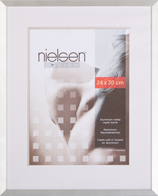 Nielsen C2 Silver Picture Frame, 24x30cm (R62264)