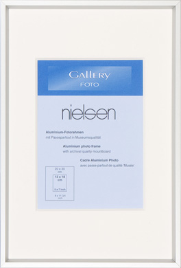 Nielsen Silver Gallery Photo Frames