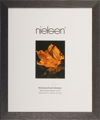 Nielsen Madeira Black Picture Frame, A4 (210x297mm) (RW4121103)