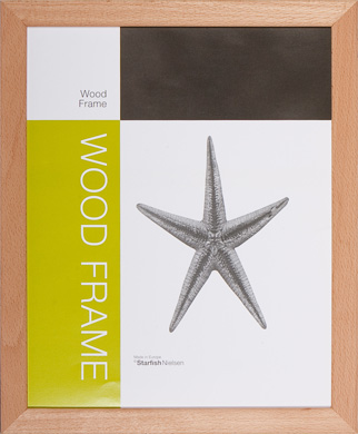 Nielsen Starfish Naturals Beech Picture Frame, 40x50cm (RWS330156)