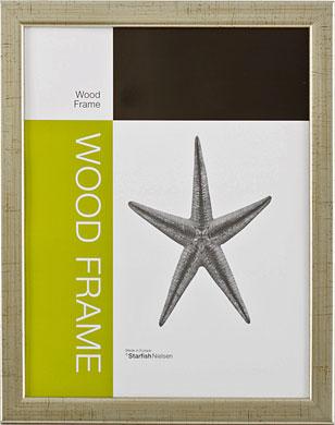 Nielsen Starfish Naturals Silver Picture Frame, 60x80cm (RWS330173)