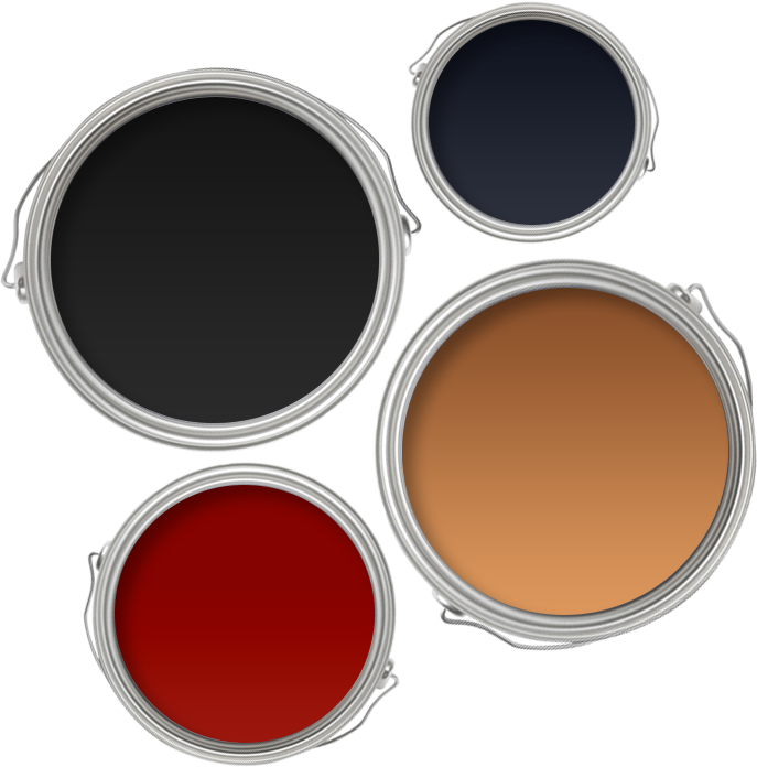 Art Deco wall paint colours
