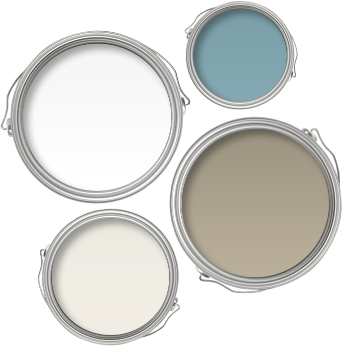Shabby chic wall paint colours