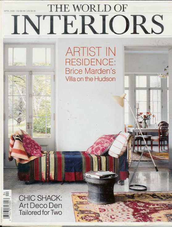 Old World of Interiors Magazine Cover